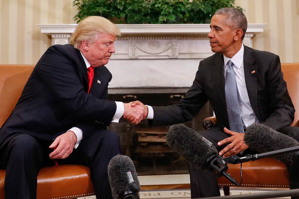 Трамп обсудил с Обамой «плавную передачу власти»