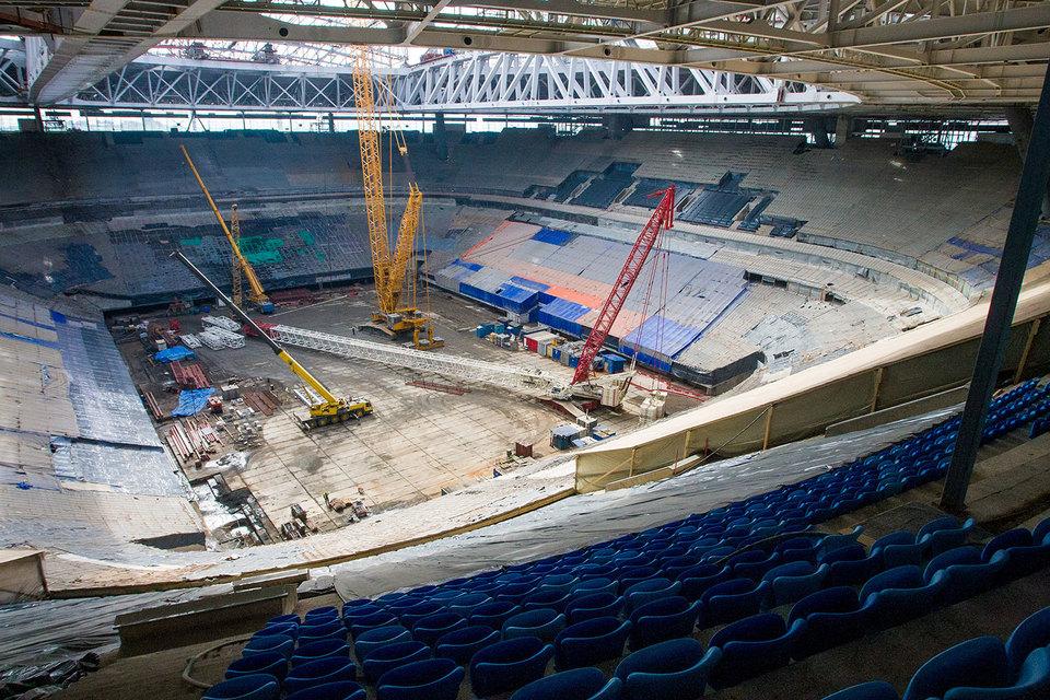 Как и весь стадион, инфраструктура связи должна быть готова к концу декабря