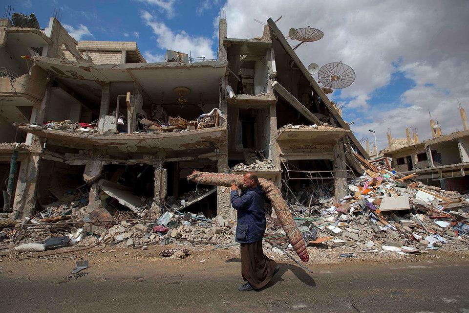 Сирийская экономика разрушена после пяти лет войны