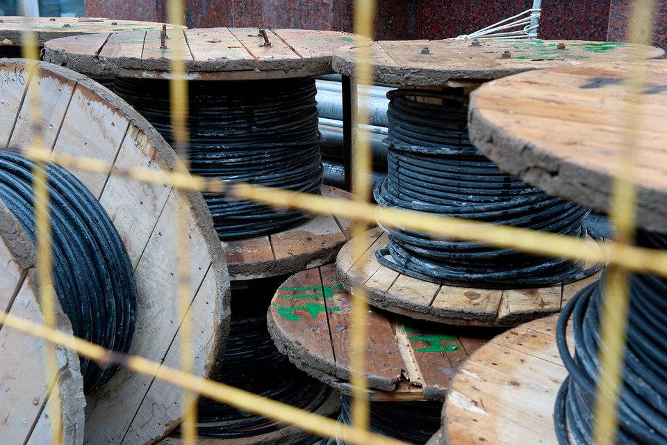 Из-за хищения кабеля и запчастей к оборудованию потери российских федеральных операторов составляют сотни миллионов рублей в год