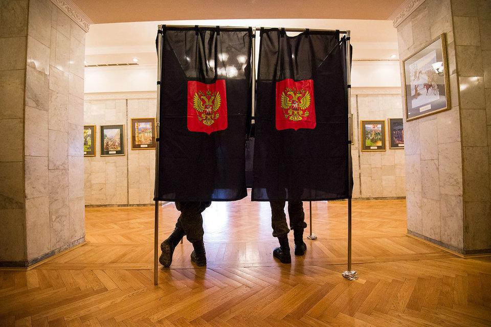 Центризбирком нашел на выборах в Госдуму в Санкт-Петербурге нарушения