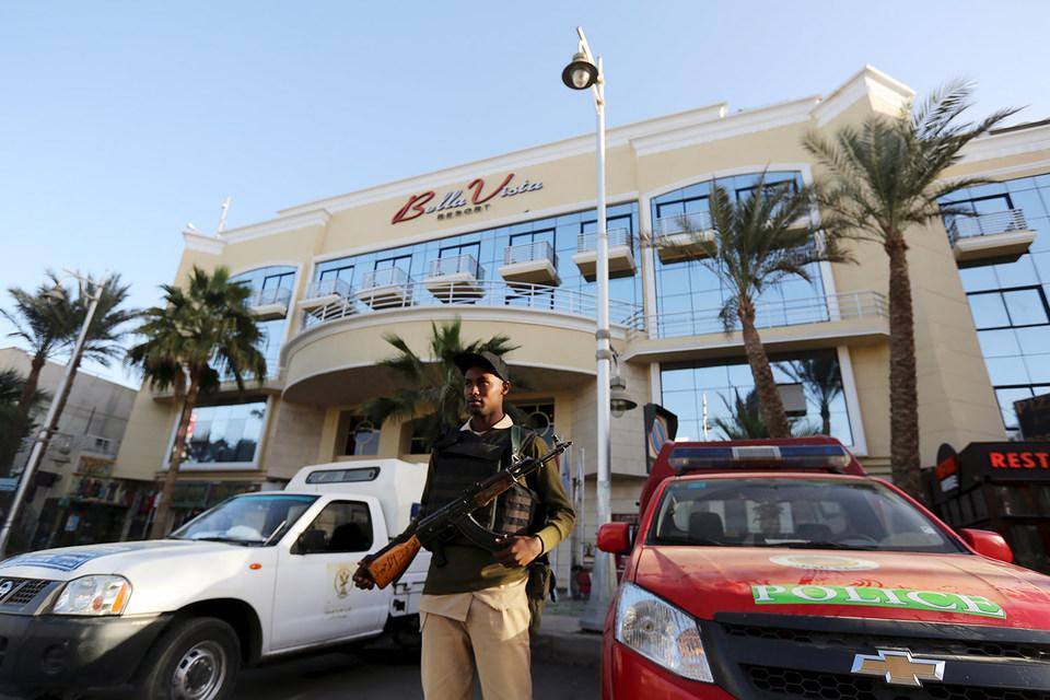 Террористы напали на отель в Хургаде