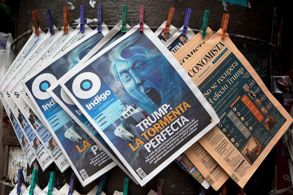 Мексика защищается от Трампа