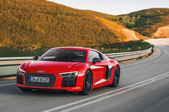 Audi R8 плюс два ведомости