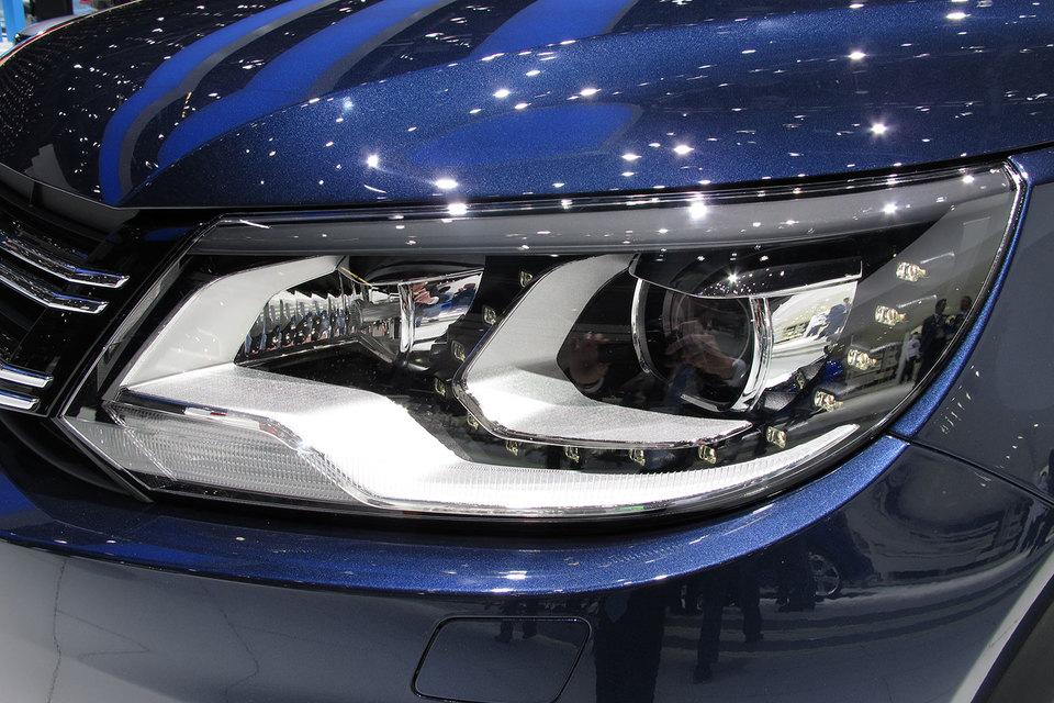 Новый Volkswagen Tiguan может сменить предшественника на рынке к апрелю 2017 г.