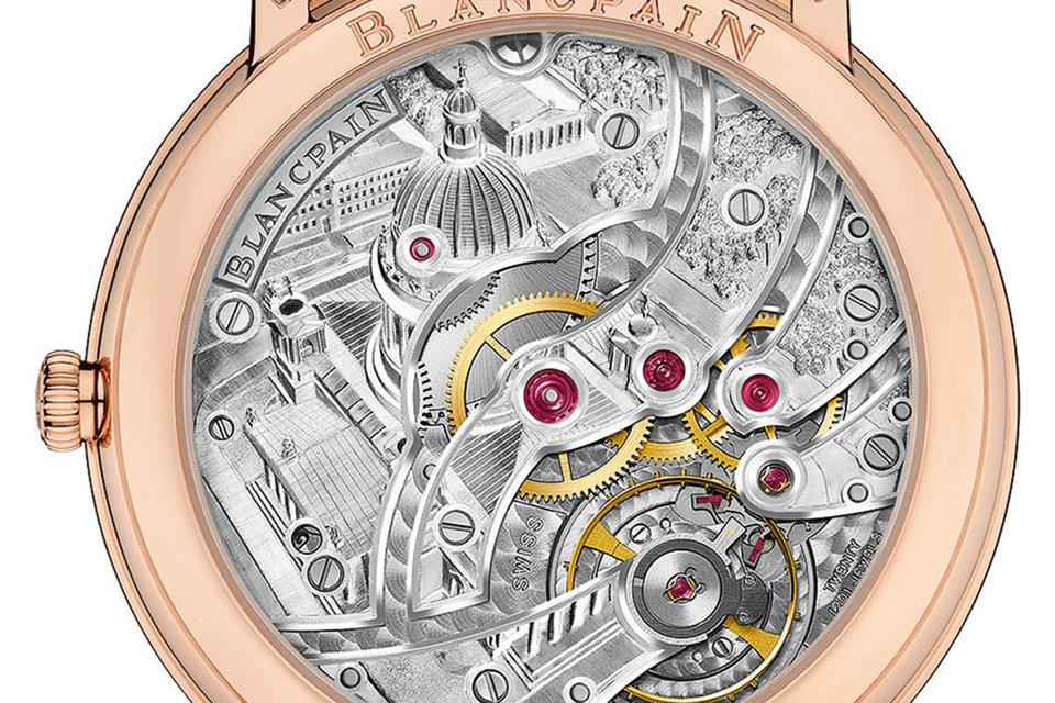 Уникальные часы с гравировкой Исаакиевского собора и храма Спаса-на-Крови созданы в единственном экземпляре