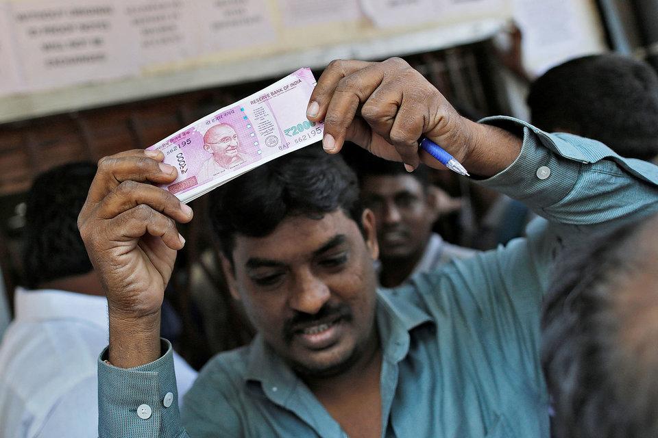 Денежная реформа стала главным событием в сегодняшней Индии