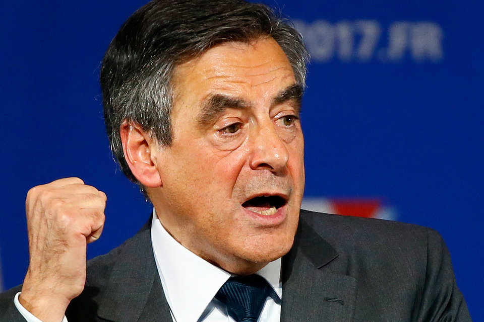 Бывший премьер Франсуа Фийон стал единым кандидатом в президенты Франции от правоцентристских сил
