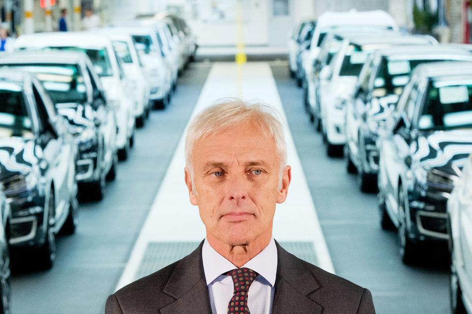 Новый гендиректор Volkswagen Маттиас Мюллер обещал вывести автоконцерн из самого серьезного кризиса в его истории