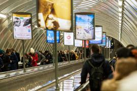 Выбор оператора, который будет размещать рекламу в метро, затянулся