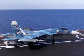 «Адмирал Кузнецов» потерял истребитель Су-33 - The Aviationist