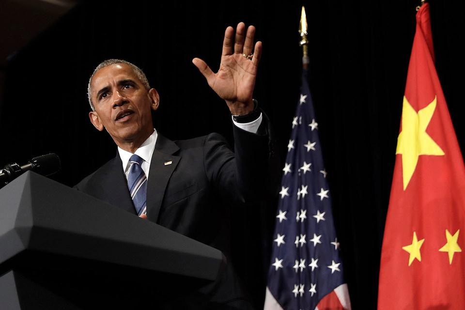 Обама поставил китайцам блок