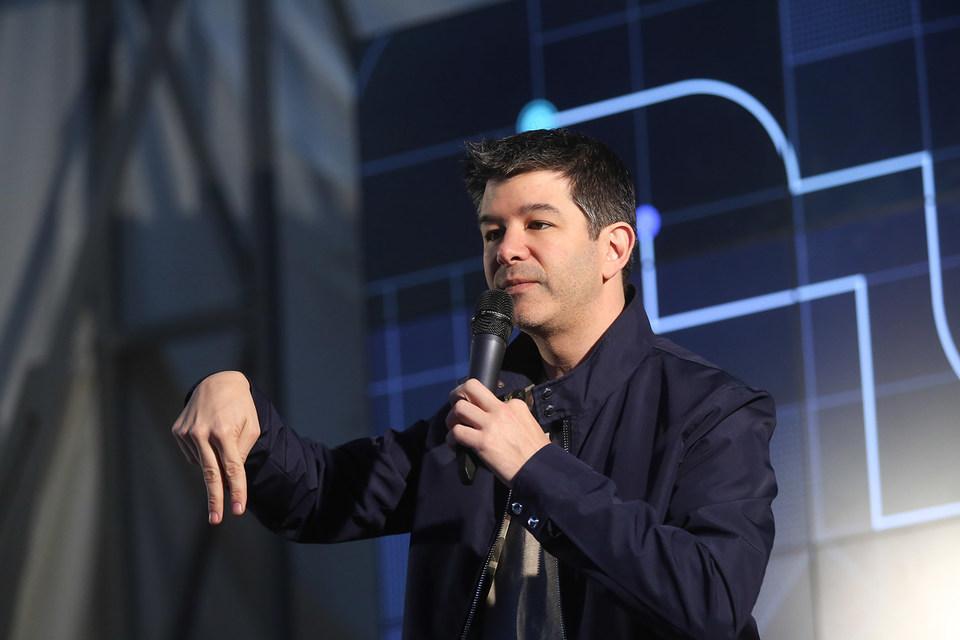 Гендиректор Uber Тревис Каланик