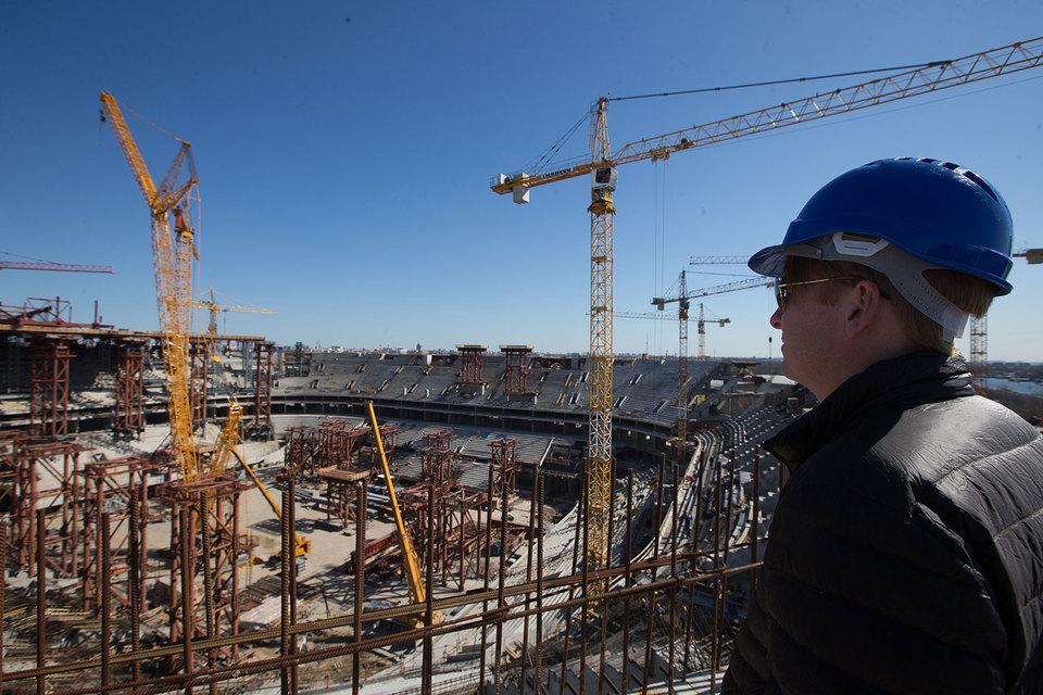 «Инжтрансстрой» был подрядчиком стадиона с 2008 г.