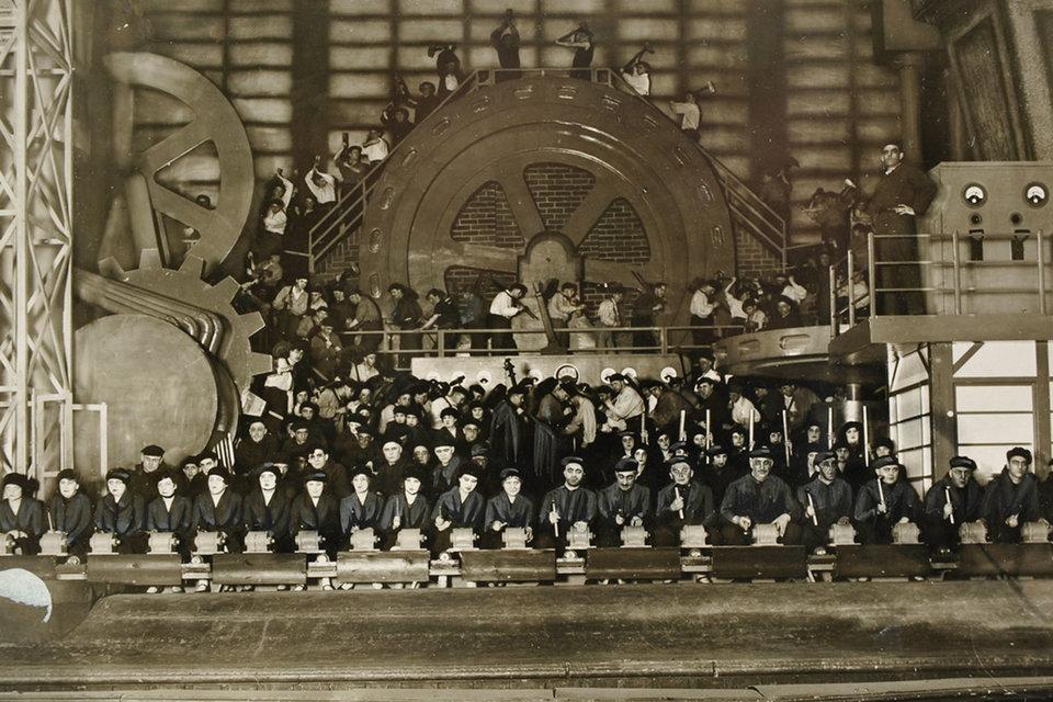 Так выглядела премьера «Машиниста Хопкинса» в Дуйсбурге в 1929 г.