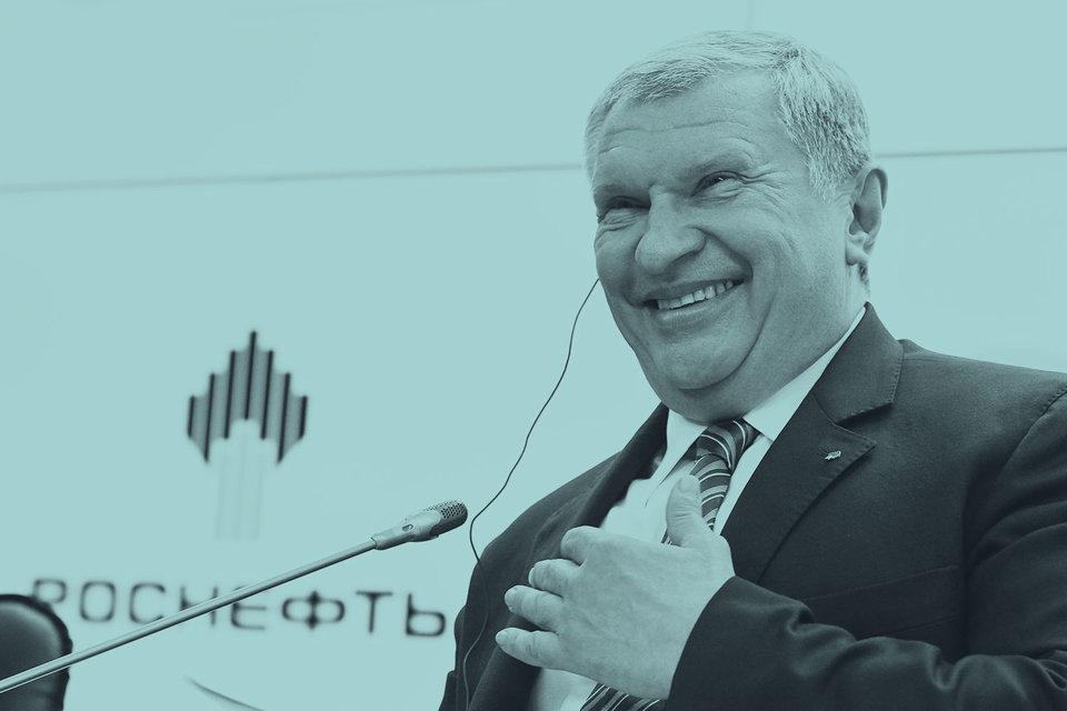 Человек недели: Игорь Сечин