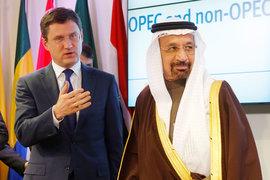 Министры энергетики России Александр Новак и Саудовской Аравии Халид аль-Фалих