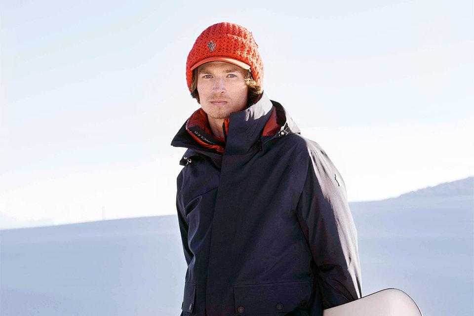 Юрий Подладчиков в рекламной кампании Moncler Grenoble High Performance