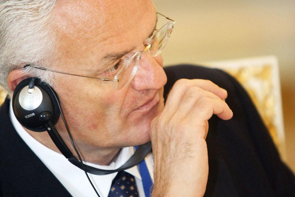 Глава Генеральной дирекции по правам человека и верховенству права Совета Европы Филипп Буайя