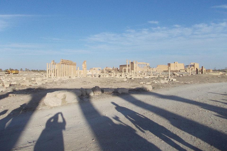 Пальмира оставалась свободной от боевиков менее девяти месяцев