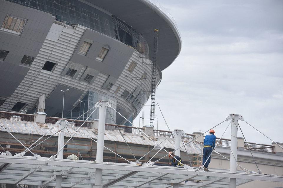 Контракт на строительство стадиона «Трансстрой» потерял еще в июле