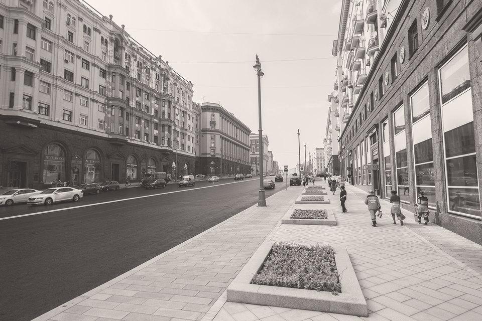 Выбранный тип реновации тротуаров предельно помпезен
