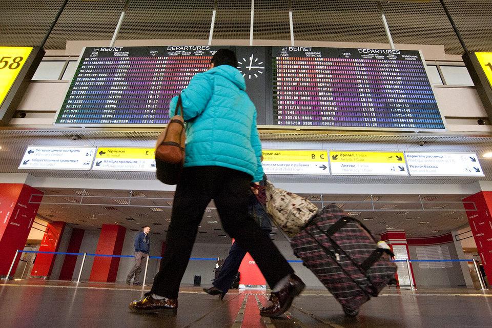Российский рынок авиаперевозок начнет расти в следующем году и даже может вернуться на уровень 2015 г., прогнозирует Минтранс