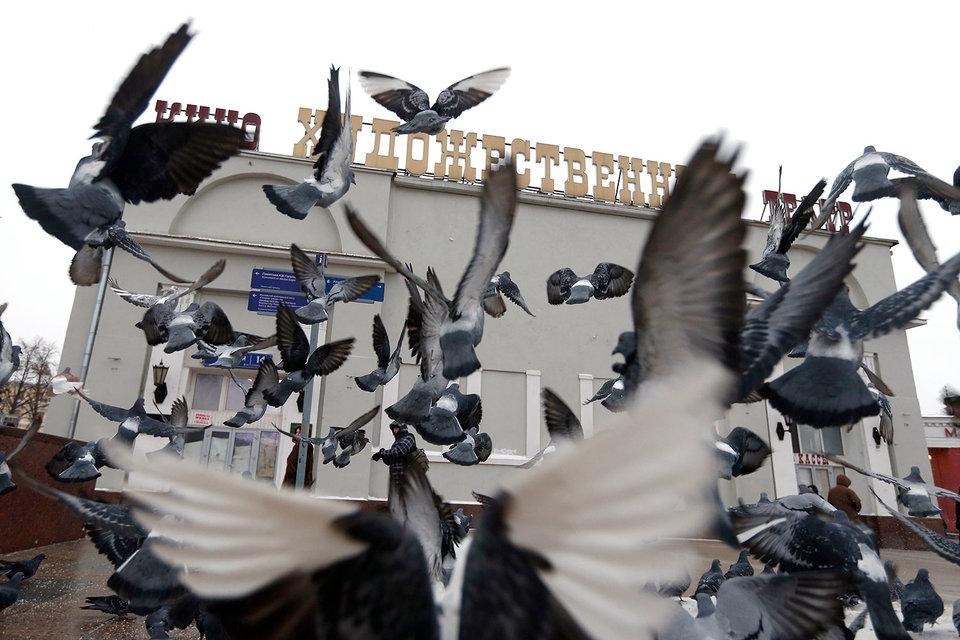 Сейчас «Художественный» закрыт, по словам Кибовского, фактически он находится в руинах
