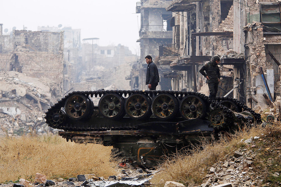 Российский Центр по примирению враждующих сторон в Сирии заявил о попытке боевиков прорваться из окружения и о том, что эта попытка была отбита