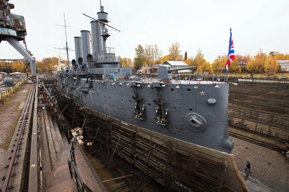 Кронштадтский морской завод, ремонтировавший крейсер, опровергает информацию о нарушениях