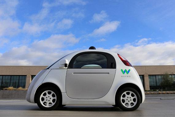 normal 1zr Беспилотными автомобилями Google будет заниматься компания Waymo