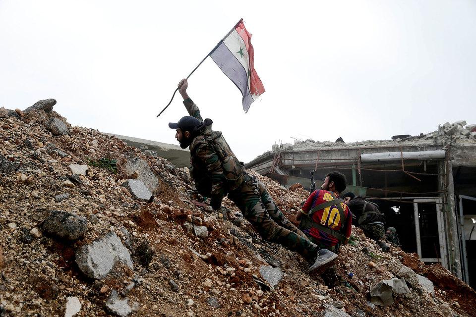 При взятии Алеппо победителей нет