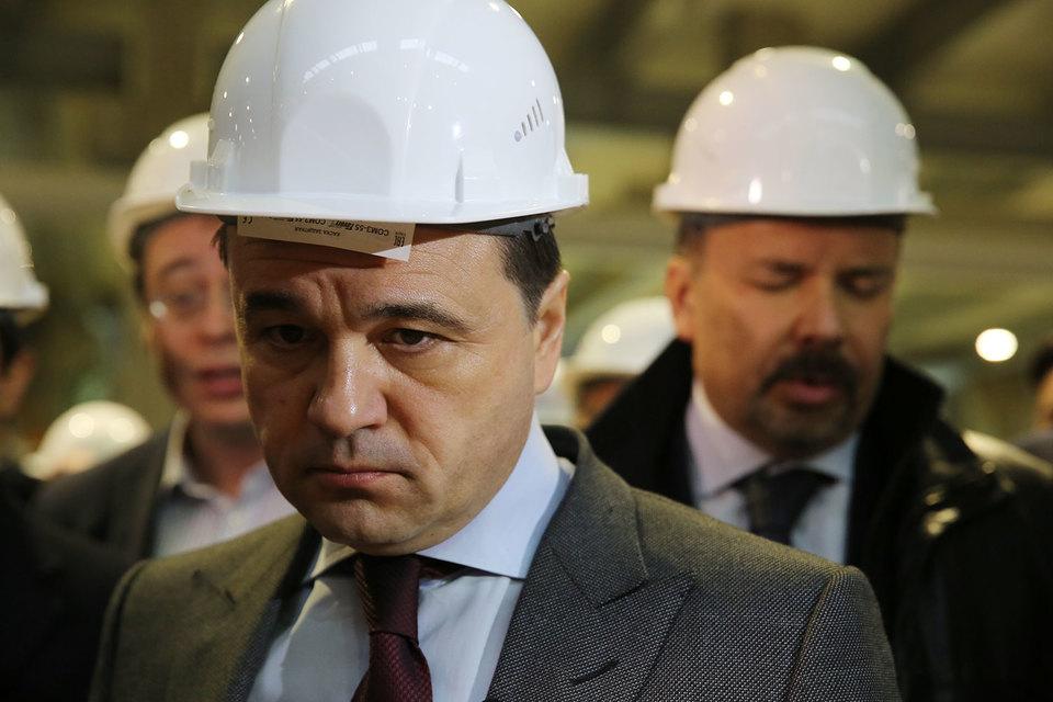 Губернатор Подмосковья показательно уволил руководителя стройкомплекса