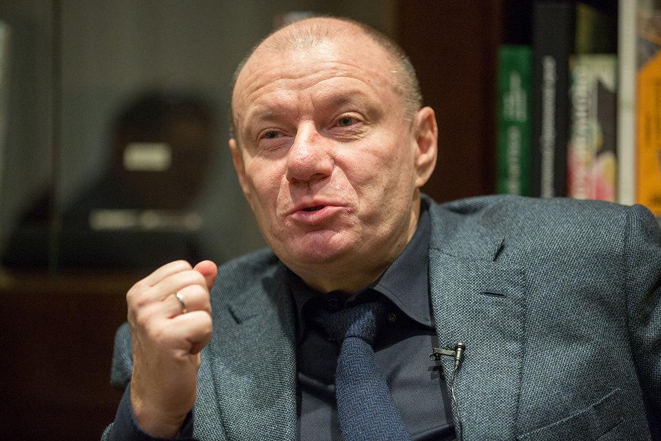 Президент – председатель правления «Норникеля» Владимир Потанин