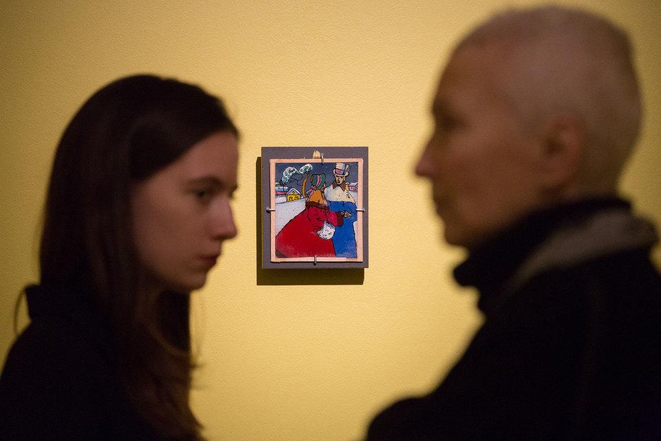Картины на стекле Кандинского миниатюрны