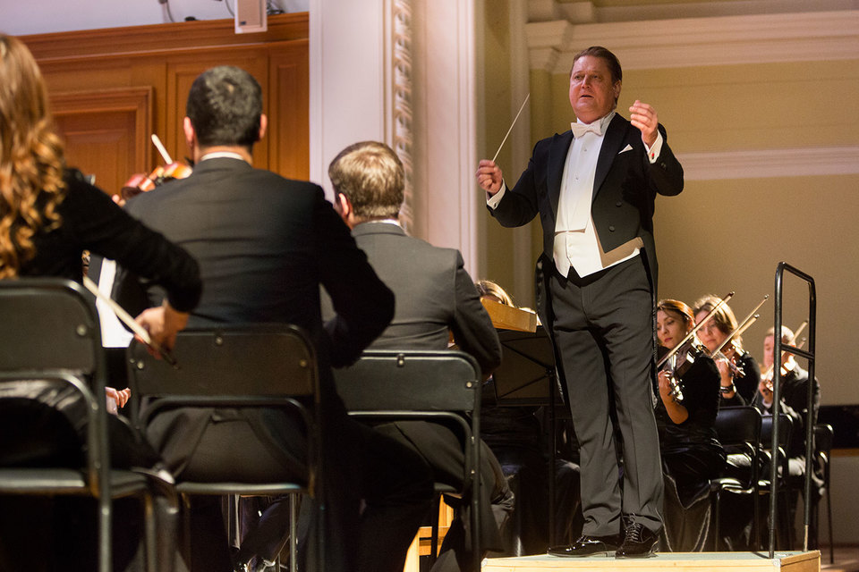 Александр Сладковский – внимательный слушатель своего оркестра
