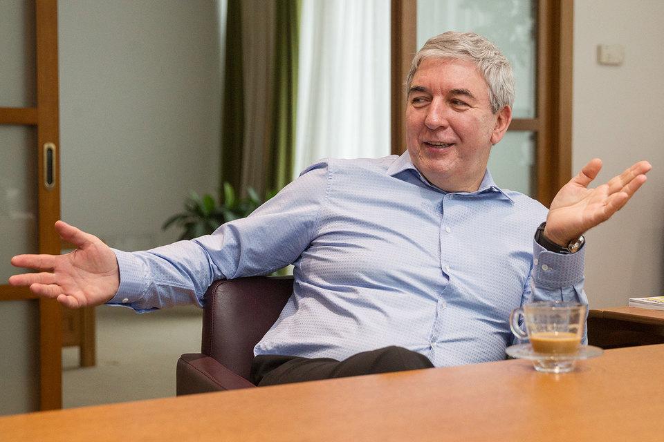Совладелец и председатель правления «Автоспеццентра» Александр Халилов