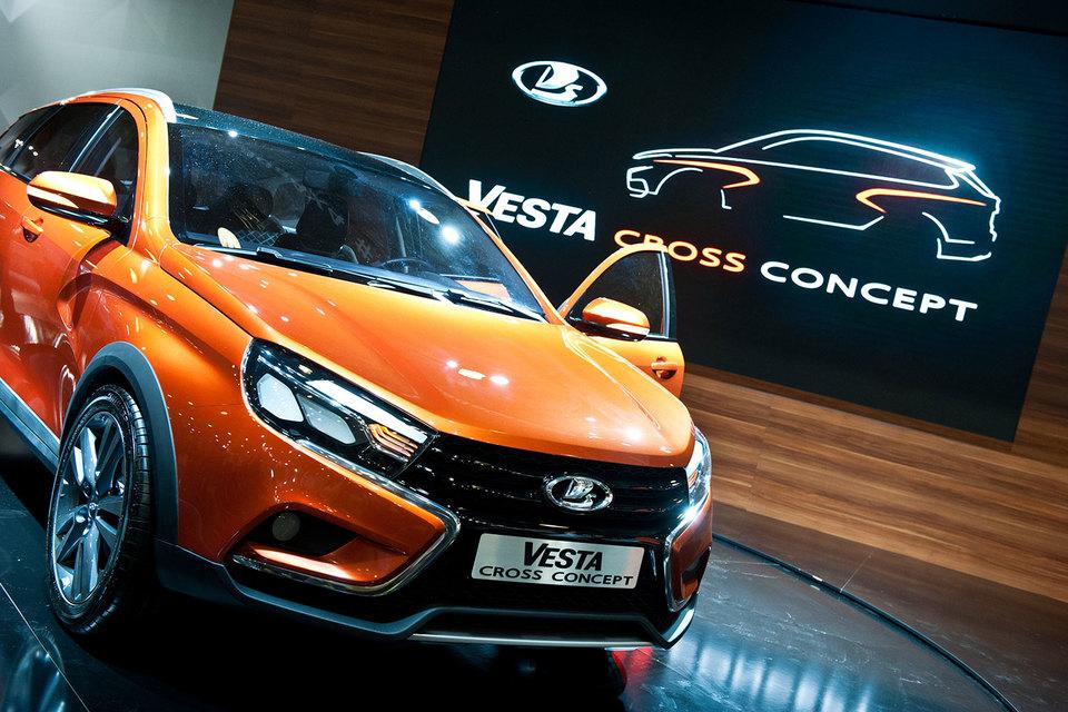 Универсал Lada Vesta Cross будет стоить больше 800 000 руб.
