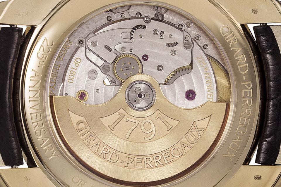 Все часы из юбилейной коллекции Place Girardet изготовлены в единственном экземпляре