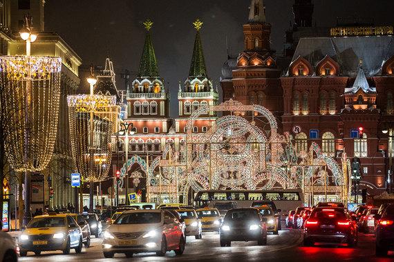 К праздникам Москву украсили в итальянском стиле - потому что культуры  России и Италии «исторически 3a3dc46b026