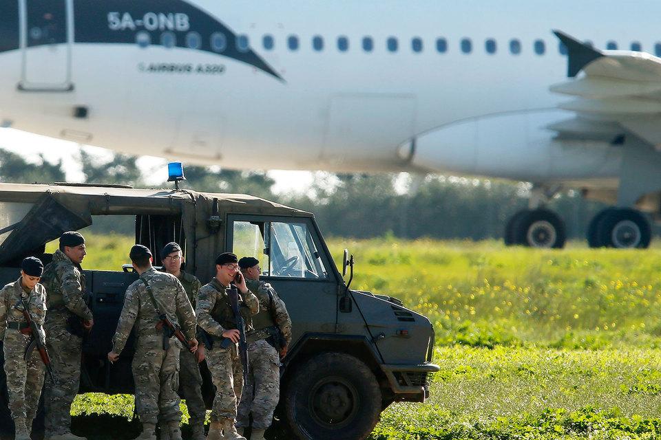 Службы безопасности Мальты приведены в боевую готовность