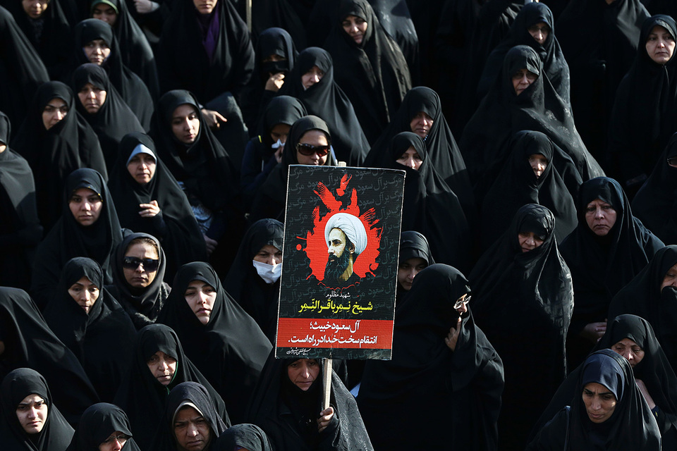 Казнь в Саудовской Аравии шиитского проповедника Нимра ан-Нимра 2 января стала поводом для демонстраций и разгрома саудовских диппредставительств в Иране