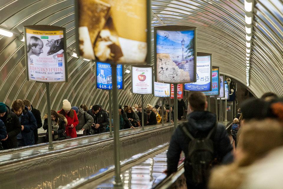 Девелопер Fort Group хочет стать оператором  рекламы в петербургском метро