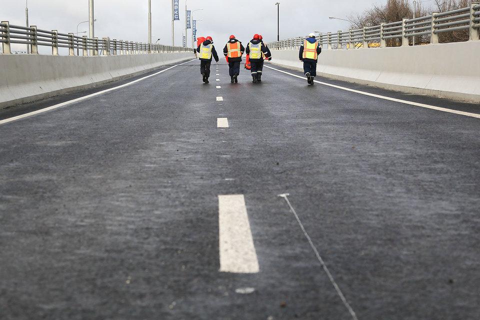 Московские власти разыграли в 2016 г. рекордное число конкурсов по строительству дорог