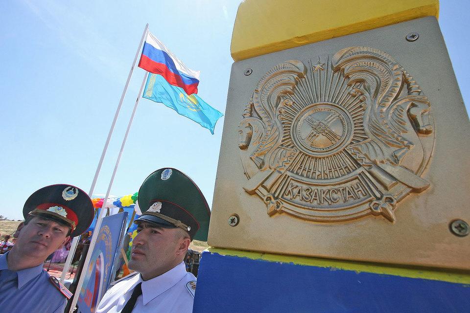 На границе России с Казахстаном