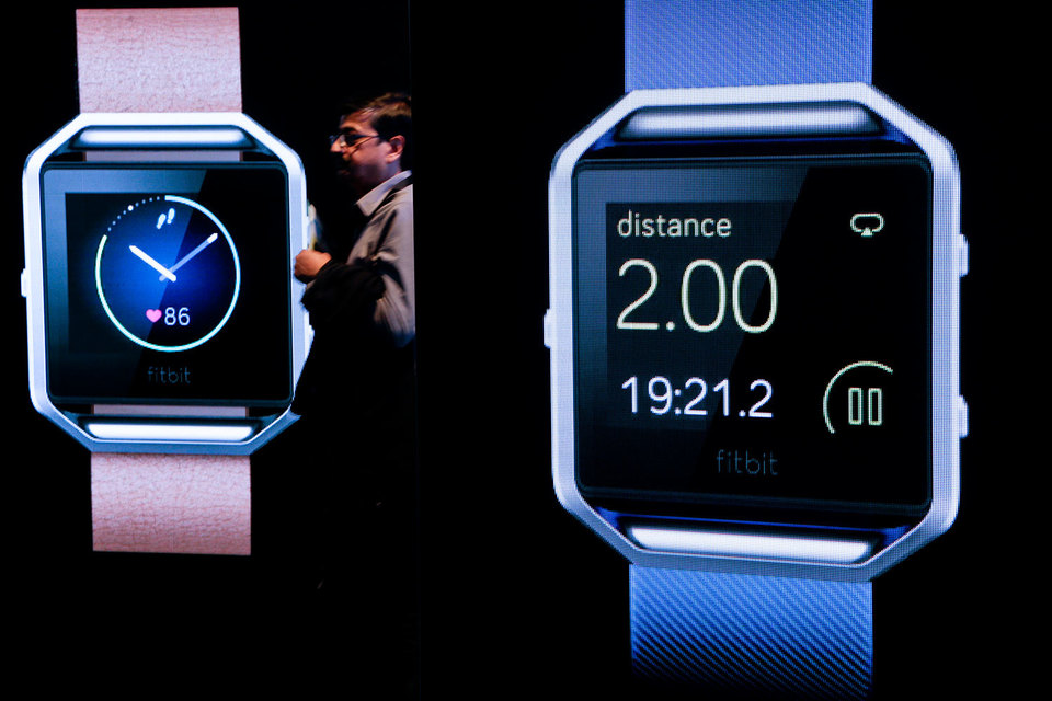 Стенд Fitbit на выставке CES International