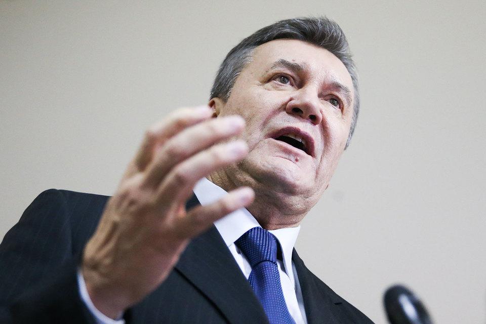 В иске Олейник утверждал, что Янукович был смещен с должности президента незаконным постановлением парламента, так как указанная в нем мотивировка не предусмотрена Конституцией страны