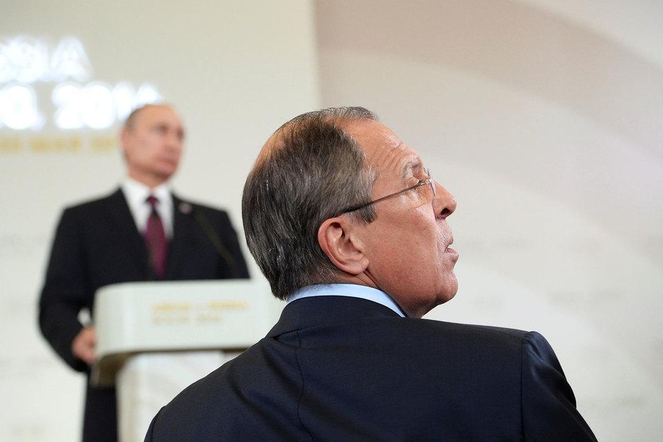 МИД предложил Путину ответные меры на новые санкции США