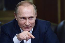 Владимир Путин дает интервью Bild в Сочи