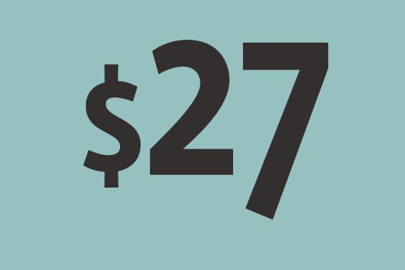 Во вторник баррель торговался на уровне $27,4